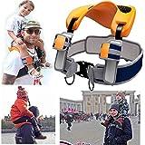 GNB Schultergurtsitz Sattel Kinder Kind Baby Knöchelriemen Hände Frei Rucksack Saddle Travel Backpack