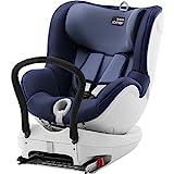 Britax Römer Dualfix, Autositz Gruppe 0+/1 (Geburt - 18 kg), Kollektion 2019, moonlight blue