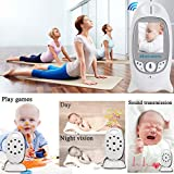 Babyphone mit Kamera video babyphone Baby Monitor mit 3.2' TFT LCD Bildschirm Nachtsichtkamera und Temperaturüberwachung