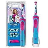 Oral-B Stages Power Kids Elektrische Zahnbürste, mit Figuren aus Die Eiskönigin- Völlig unverfroren
