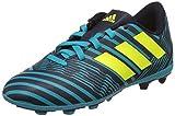 adidas Jungen Nemeziz 17.4 Fxg J Fußballschuhe, Mehrfarbig (Legend Ink /solar Yellow/energy Blue ), 36 EU