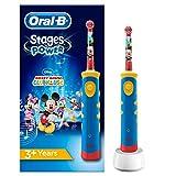 Oral-B Stages Power Mickey Maus Elektrische Zahnbürste, für Kinder ab 3 Jahren