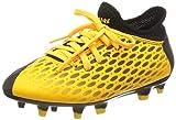 PUMA Unisex-Kinder Future 5.4 Fg/ag Jr Botas de fútbol, Gelb (Ultra Yellow Black), 35 EU