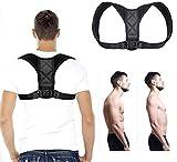 Ribaworld Haltungskorrektur Geradehalter für Rücken Schulter Rückentrainer für Bessere Körperhaltung Einstellen Haltungstrainer für Damen Herren Schulterträger Rückenstabilisator