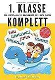 1. Klasse Komplett - Das umfangreiche Übungsheft für gute Noten: 800+ spannende Aufgaben für Mathe, Deutsch, Lesen, Rechtschreiben, Sachkunde und Konzentration - Von Lehrern empfohlen