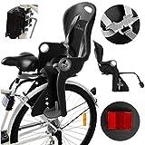 Campela Kinderfahrradsitz für Gepäckträger - fahrradsitz Kinder hinten, kindersitz Fahrrad, Modell CA0060BLK
