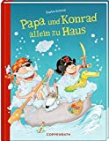Papa und Konrad allein zu Haus