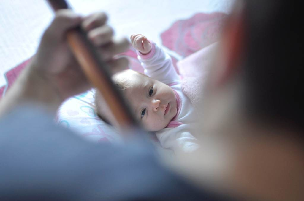 wenn das baby schreit kannst du es beruhigen