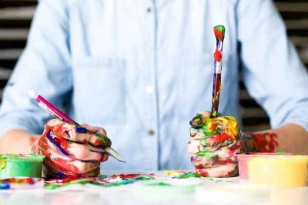 Ausmalbilder sind sehr gut für die Kreativität von Kindern