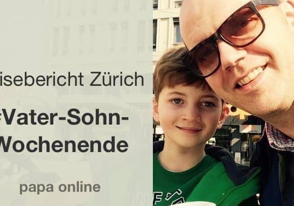 Andreas und Leopold in Zürich