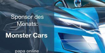 Sponsor des Monats: Monster Cars