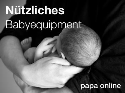 Nützliches Babyequipment