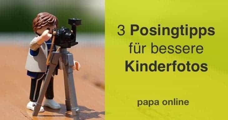 Die 3 besten Posingtipps für Kinderfotos, die süchtig machen