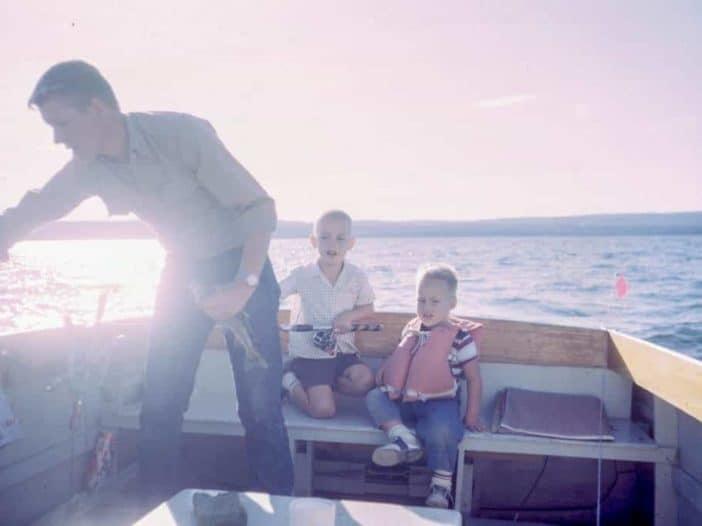 Ausflüge mit Kindern im boot