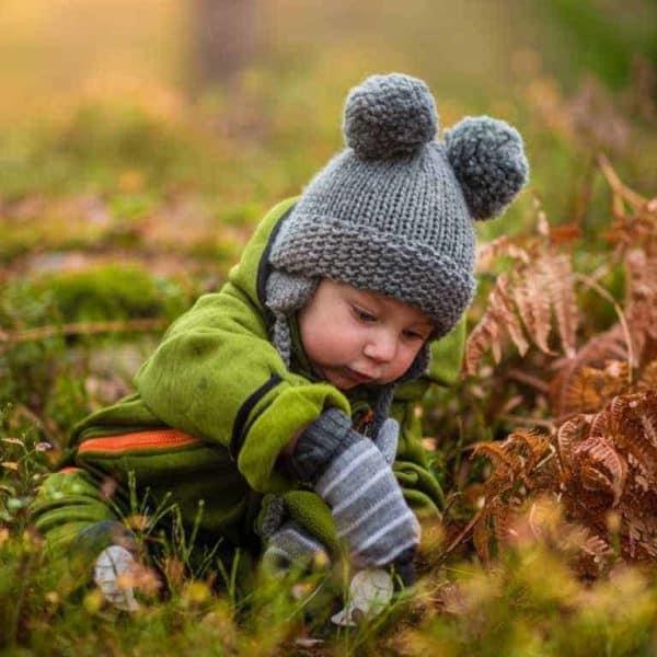 Frische Luft und Schmutz ist gut für das Immunsystem deines Kindes