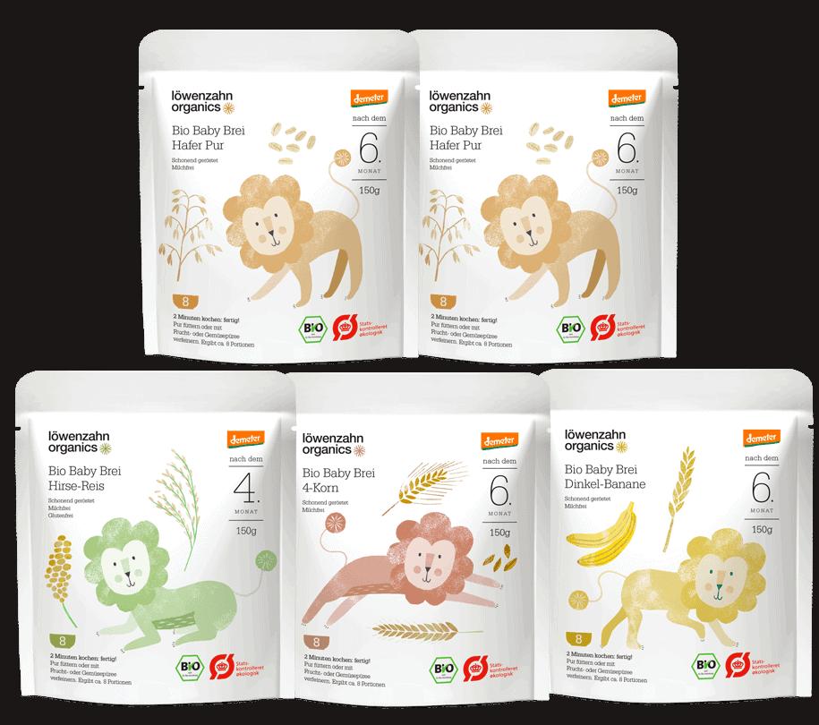 Löwenzahn organics breiprodukte