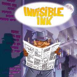 Invisible Ink Banner