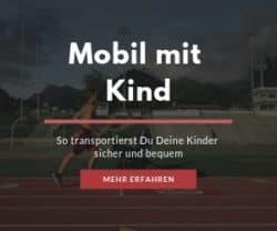 Der Kindertransport – Kinderwagen, Fahrradsitz, Fahrradanhänger und Co.